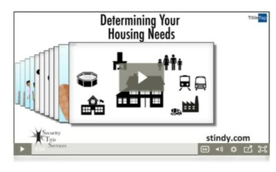 How Can I Determine My Housing Needs Before I Begin The Search?